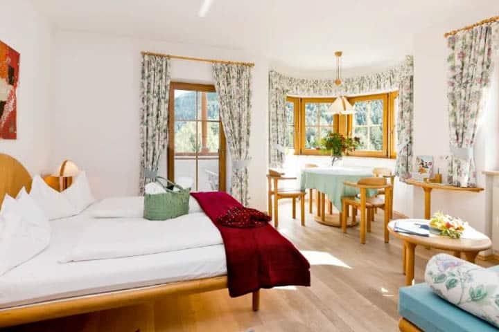 Südtirol Wellnessurlaub Zimmer