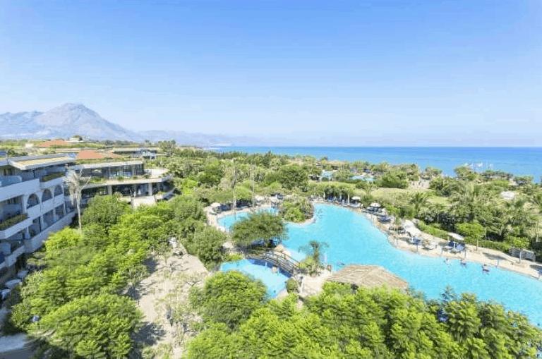 Sizilien Rundreise Hotelanlage