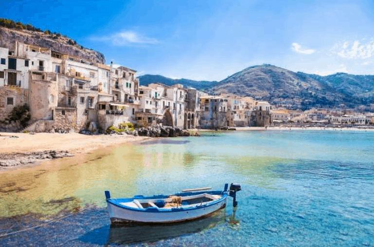 Sizilien Rundreise Meer
