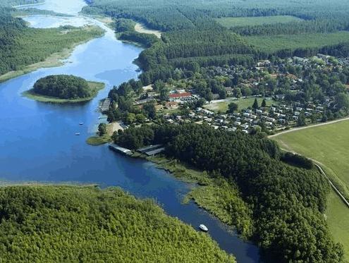 Mecklenburgische Seenplatte Ferienhaus Umgebung