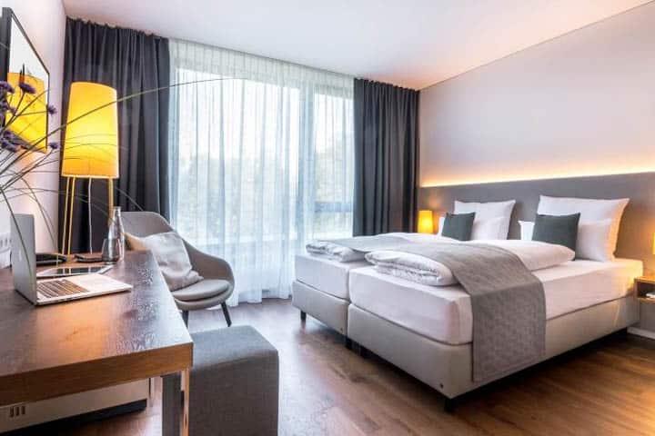 Würzburg Hotel Zimmer