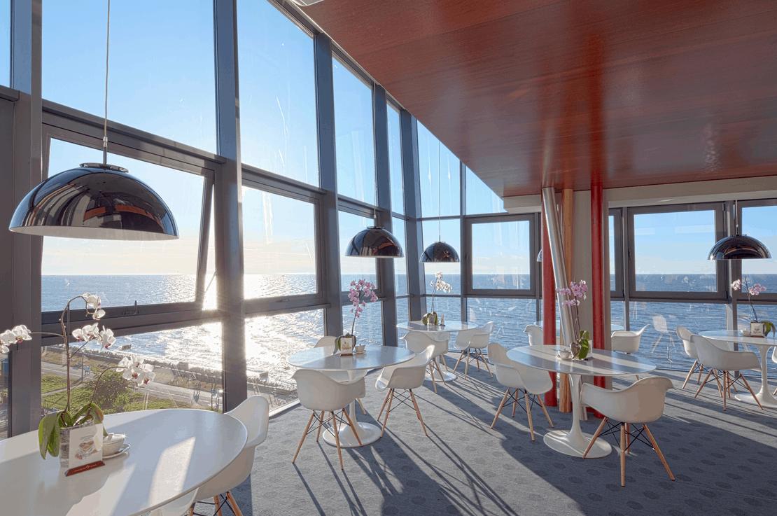 Luxus Polnische Ostsee Speisesaal