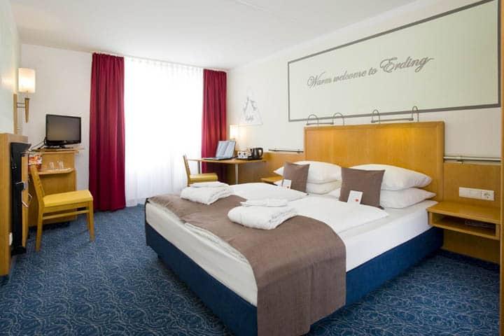 Oktoberfest in München Hotelzimmer