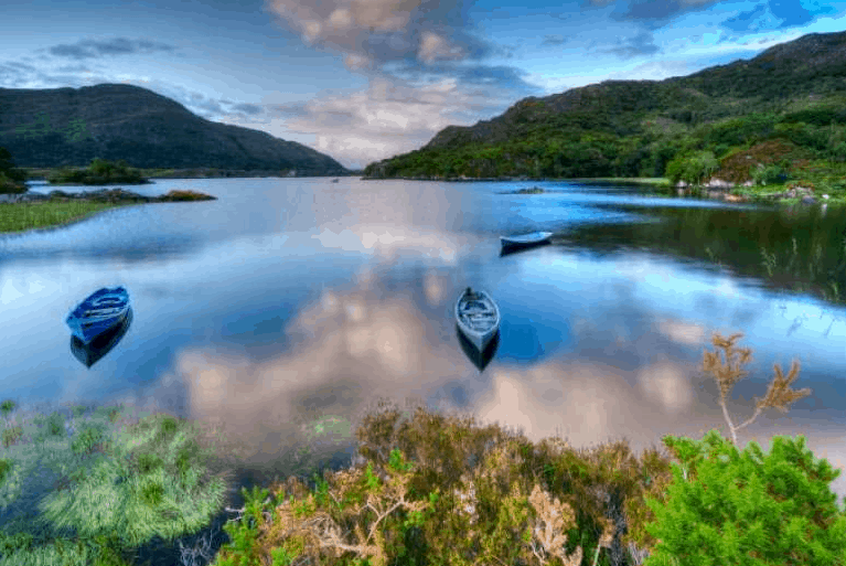 Irland Rundreise Landschaft
