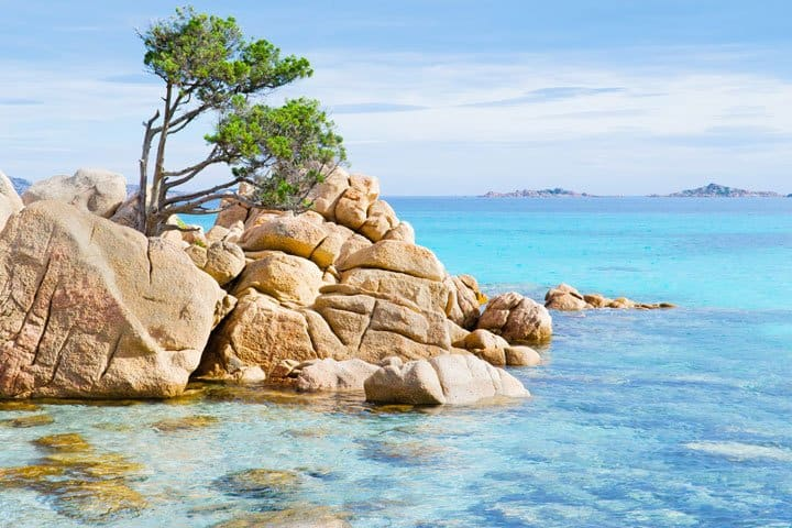 Hotel Speraesole Sardinien Meer