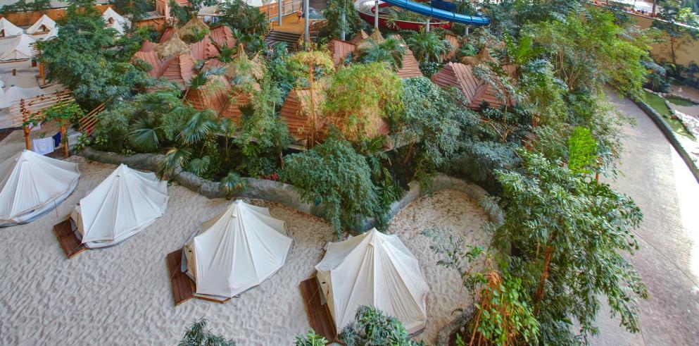 Tropical Island Angebot Zelt
