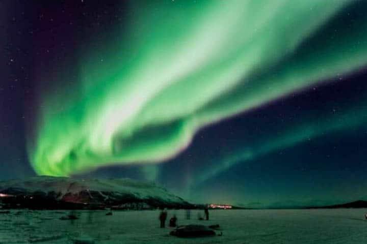Lappland Reise Nordlichter