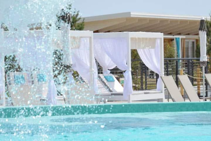 Bibione Hotel Poolanlage