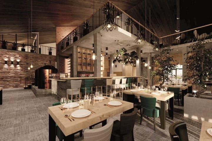 Hotel Brauerei Folga Restaurant