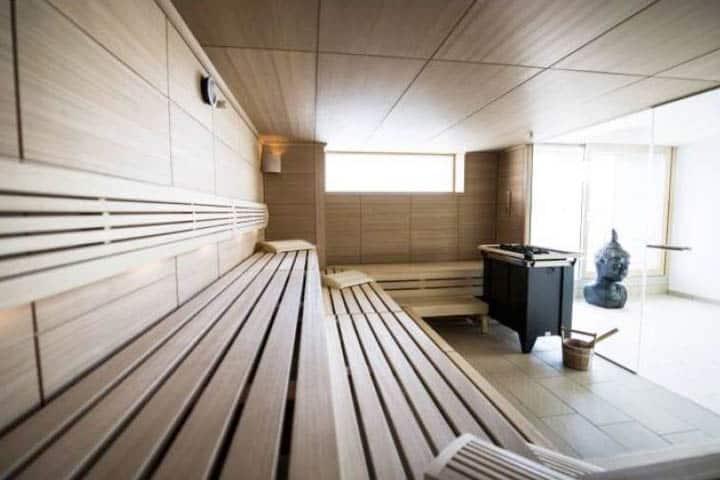 Hotel Hafen Büsüm Sauna