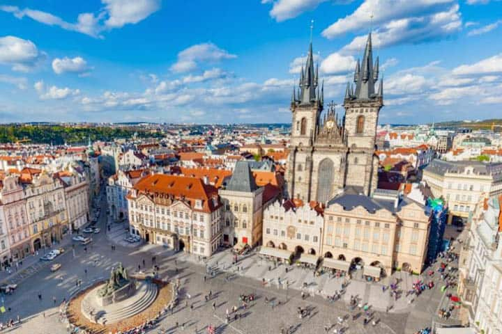 Prag Städtereise Stadt