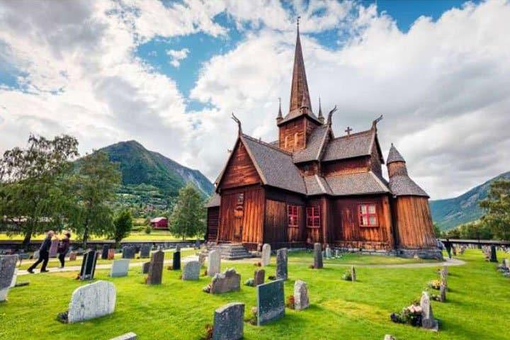 Norwegen Urlaub Friedhof