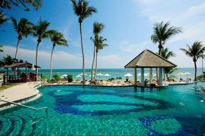 Koh Samui Urlaub Pool