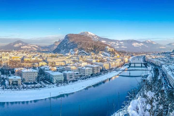 Advent in Salzburg Stadt