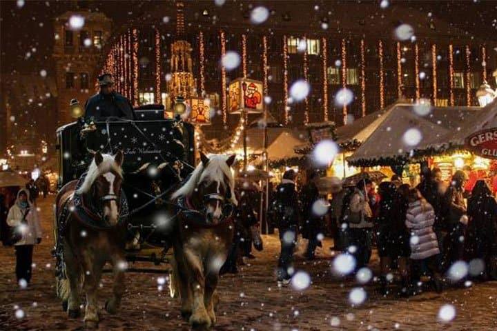 Nürnberger Chriskindlesmarkt Pferde