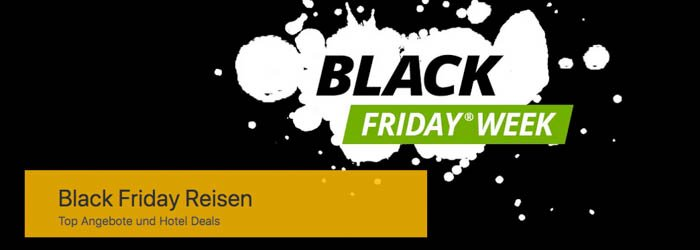 Kurz mal Weg.De Black Friday Reisen