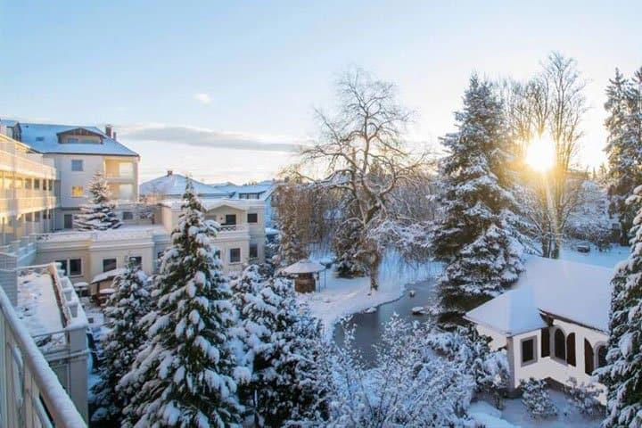 Bad Wörishofen Hotel im Winter