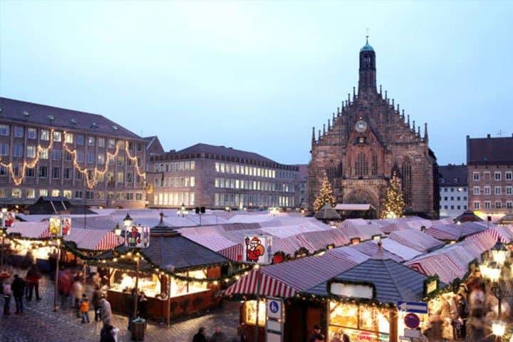 Nürnberger Christkindlesmarkt Marktbereich