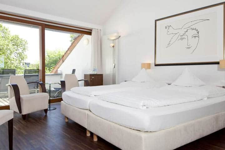 Überlingen Hotel Johanniter Kreuz Zimmer