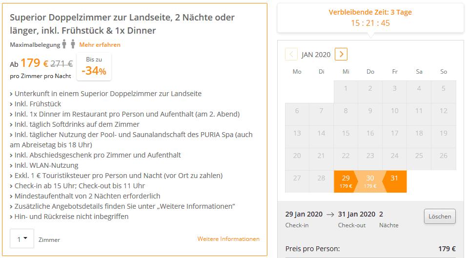 Kühlungsborn Hotel SE Angebot