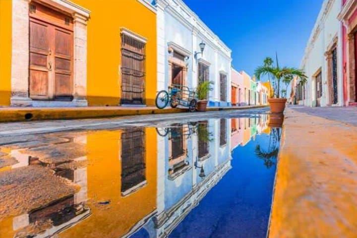 Mexiko Rundreise Stadt