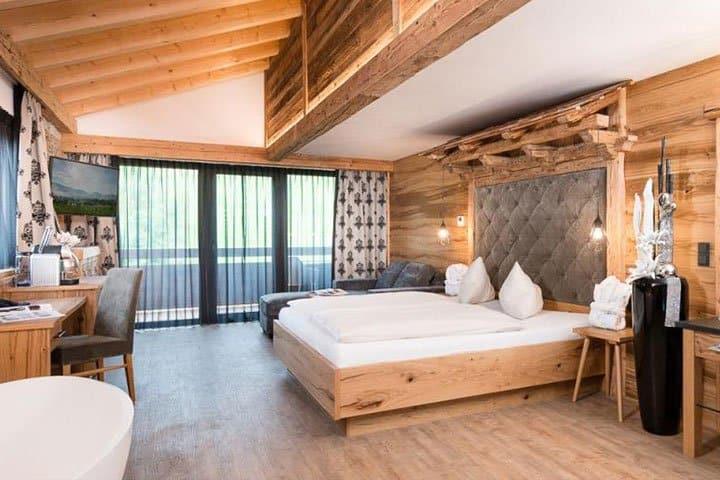 Alpenhotel Fall in Love Zimmer