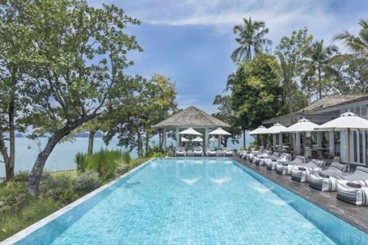 Thailand Rundreise Pool