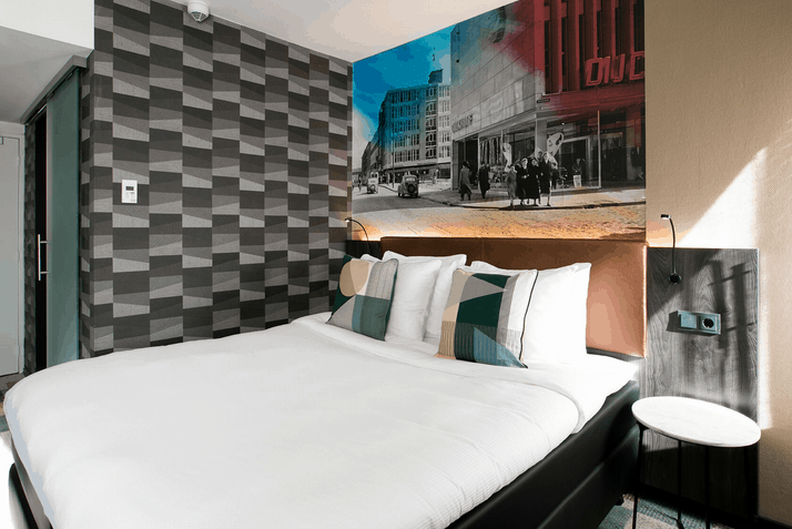 Hotel Rotterdam Zimmer