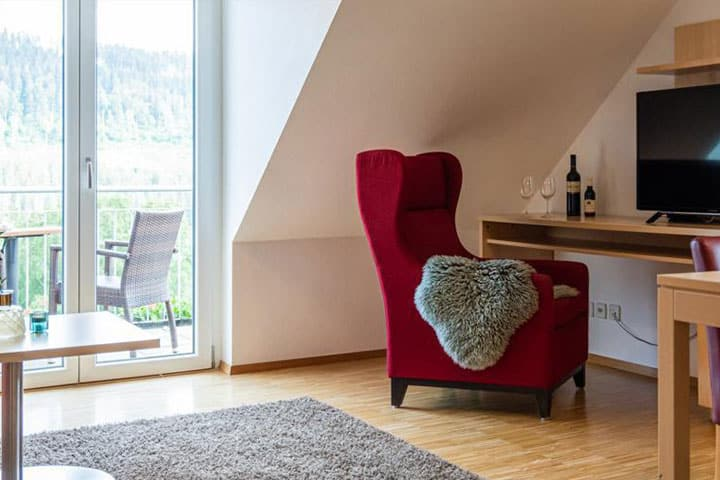 Titisee Hotel Zimmer
