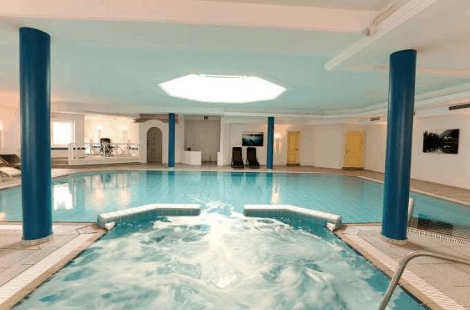 Oberstdorf Hotel Pool