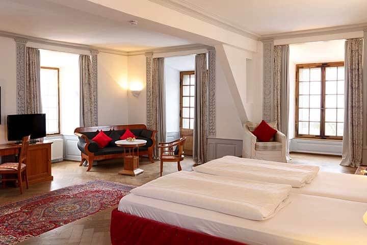 Hotel Schloss Edesheim Zimmer