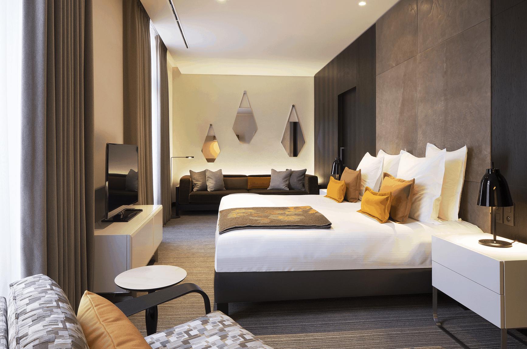 Strassburg Hotel Zimmer