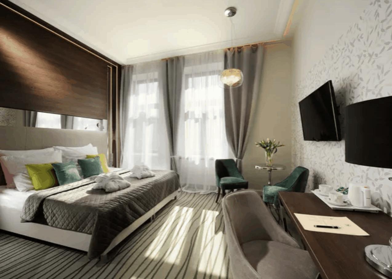 Krakau Hotel Zimmer