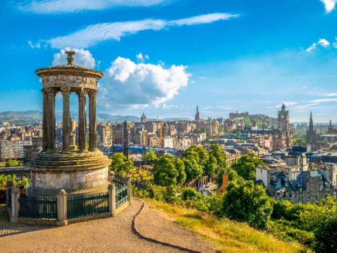 Schottland Rundreise Edinburgh